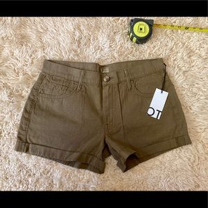 MOTHER Dropout Cuff Short